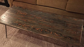 Furniture from reclaimed decking