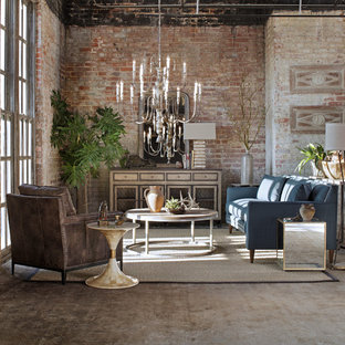 Gabby 6 Sophisticated: Transitional Loft Family Room
