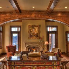 traditional family room by Gabriel Builders Inc.