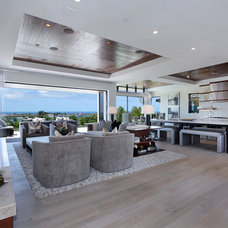 Contemporary Family Room by Spinnaker Development