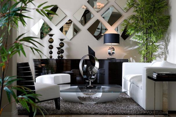 Contemporary Family Room by Design Studio 15