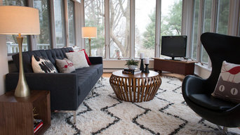 Gallery of staged rooms