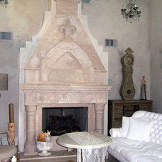 Mediterranean Family Room by Arte-Wall