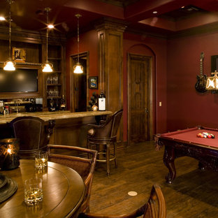 Game Room bar and wine room