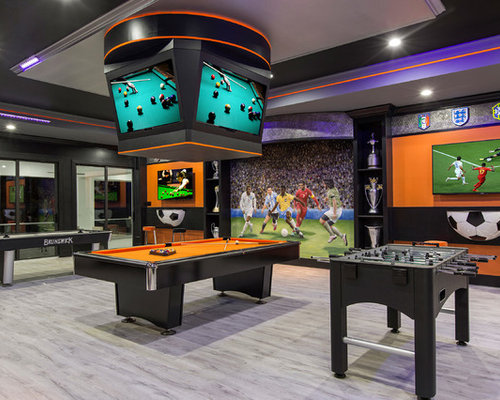 Fotos de bares en casa | Diseños de bares en casa con puertas de ...