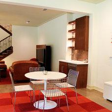 Modern Family Room by Studio B Designs