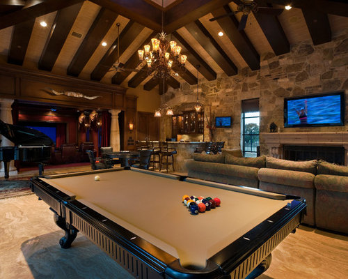Rustic Man Cave Home Design Ideas Pictures Remodel And Decor