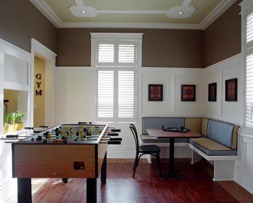 Salle de séjour corner banquette : photos et idées déco de salles ...