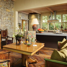 Eclectic Family Room by Dave Adams Photography