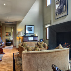 Contemporary Family Room by James Glover Residential & Interior Design