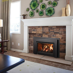 Gas fireplaces and inserts -