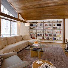 Modern Family Room by Constance Hall Design, Inc.