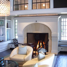 Traditional Family Room by COASTROAD Hearth & Patio
