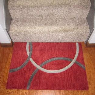 Geometric Circle Custom Rug
