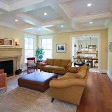 Traditional Family Room by Georgetown Development