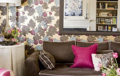 Houzz Tour: Color and Pattern Play in a Georgetown Townhouse