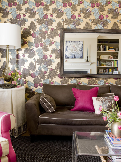 Hot Pink Damask Wallpaper Ideas Pictures Remodel And Decor