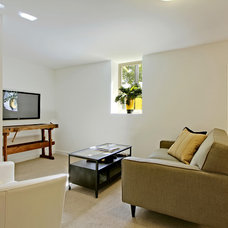 Contemporary Family Room by Green Canopy Homes