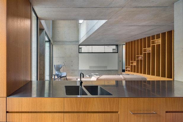 Contemporain Salle de Séjour by Nobbs Radford Architects