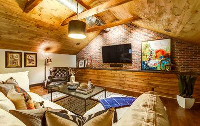 Attic Renovation Creates a Comfy Getaway at Home