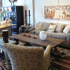Eclectic Family Room by Rupal Mamtani