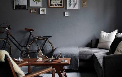 Vågar du? 8 vardagsrum med spännande mörka väggar