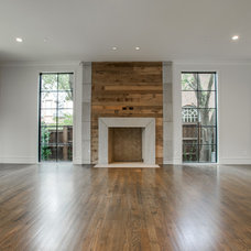 Transitional Family Room by TATUM BROWN CUSTOM HOMES