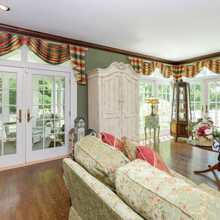 Gorgeous Family Room with New French Doors