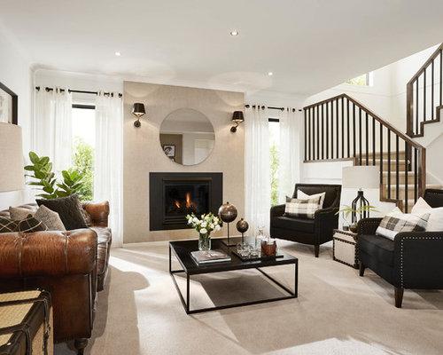 Modern Family Room Design Ideas, Renovations & Photos