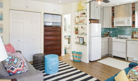 Charmant BEFORE AND AFTERSHouzz Tour: Room For Everything In A 275 Square Foot Beach  Studio