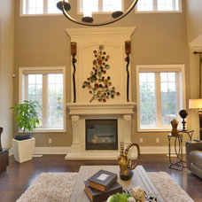 Transitional Family Room by Sense Of Style