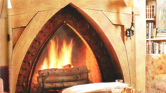 great fireplace tilework