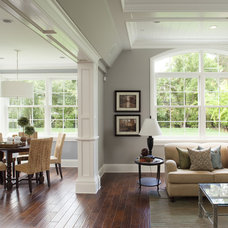 Traditional Family Room by Arch Studio, Inc.