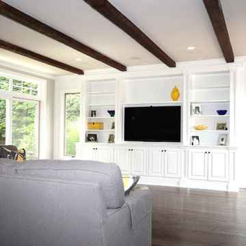 Great room built-ins