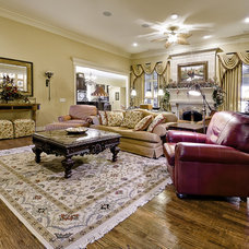 Traditional Family Room by Celtic Custom Homes