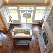 Traditional Family Room by Craftsman Construction