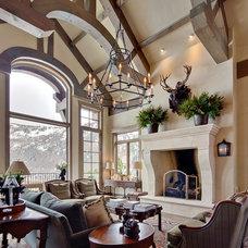 Family Room by David Johnston Architects