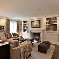 Family Room by GHStyleworks