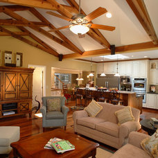 Traditional Family Room by Hurst Design Build Remodeling
