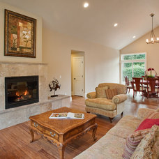 Traditional Family Room by Lakeville Homes