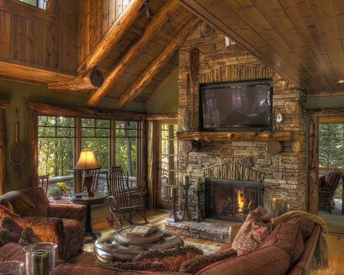 Cultured Stone Fireplace Houzz