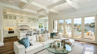 Great Room-  Meticulously Detailed Cape Cod Home in Manhattan Beach, CA