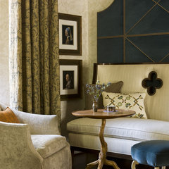 traditional family room by Patrick Sutton Associates