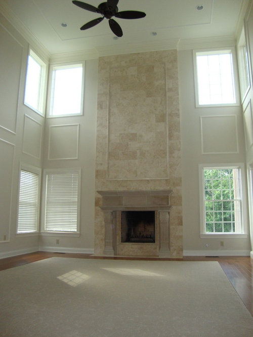 Stone Two Story Fireplace Ideas Pictures Remodel And Decor