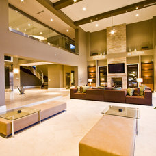 Contemporary Family Room by DIVA INTERIOR CONCEPTS
