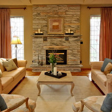 Traditional Family Room by Somers & Company Interiors,  Gillian Somers