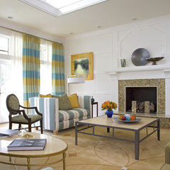 contemporary family room by Sroka Design, Inc.