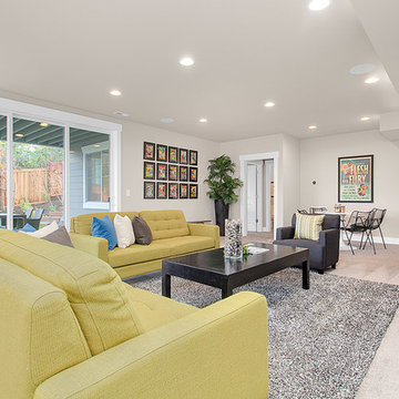 Greater Seattle Area | San Tropez Basement Rec Room