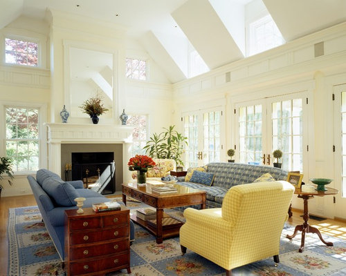 Vaulted Ceiling Family Room Houzz