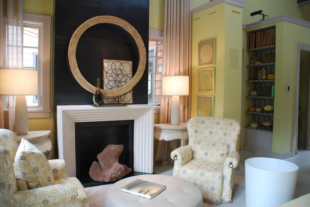Eclectic Family Room by Mark Turner